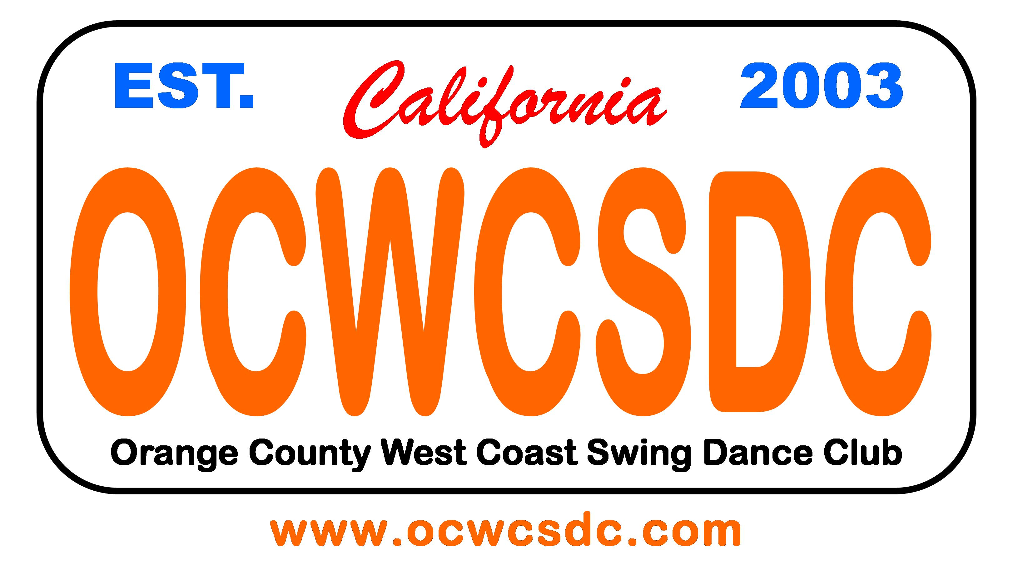 Orange County West Coast Swing Dance Club Logo